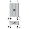 Photo ISAN MELODY Radiator F10L, bottom connection (right), 1800/700 mm (price on request) [Code number: F10L18000700DB01-]