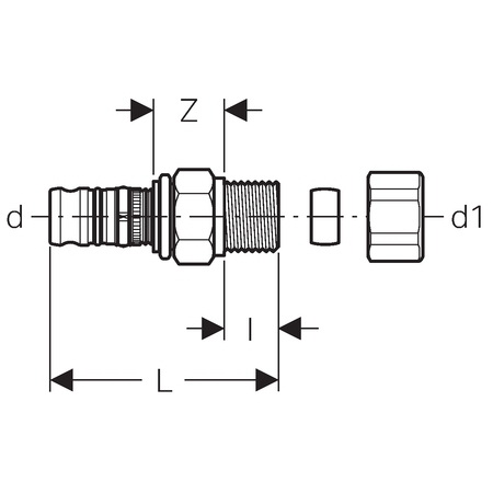 O Ring Connector