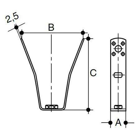 Wavin Quick Stream fastening elements | Inrusstrade