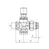 "Draft VALTEC Bypass differential valve straight/angled, for high flow capacity, G 3/4"" [Code number: VT.623.G.05]"