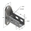 Draft Saddle support bracket, swivel, type 38-41, 4F6 [Code number: 09255004]