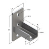 Draft Saddle support bracket, longitudinal, type 38-41, 6F2 [Code number: 09255001]