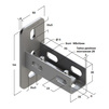 Draft Saddle support bracket, universal, type 28, 4F6 [Code number: 09119001]