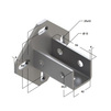 Draft Saddle support bracket, universal, type 38-41, 6F6 [Code number: 09255003]