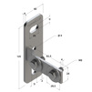 Draft Channel support bracket, longitudinal, type 28, 4F2, M8 [Code number: 09115001]