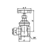 "Draft VALTEC RG Brass full bore gate valve, PN 16, d 1 1/4"" [Code number: VT.012.RG.07]"