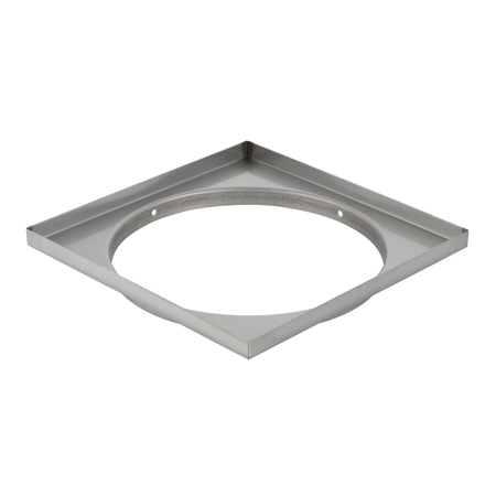 NO LONGER PRODUCED] - Geberit duct frame for duct, grating weight