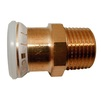 "Photo Geberit Mapress Copper adapter with male thread, d28-Rp1 1/4"" [Code number: 61718]"