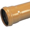 Photo Wavin ML socket pipe, PVC, N class, d 110x3.0x3000 [Code number: 22746030]