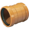 Photo Wavin ML double socket coupling, d 200 [Code number: 22760360]