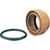 Photo Wavin ML coupling for connection PVC pipe to socket concrete pipe, d 110/100 [Code number: 22746380]
