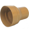 Photo Wavin ML coupling for connection socket PVC pipe to cast-iron pipe, d 200/200 [Code number: 22760370]