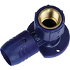 "Photo Wavin Future K1 SmartFIX elbow with flange, for plumbing fixture, d 16 x 1/2"" [Code number: 25504193]"