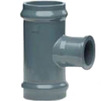 Photo Wavin PVC Pressure Pipe systems T-piece (flange/socket), d 200*110*200 [Code number: 20160018]