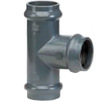 Photo Wavin PVC Pressure Pipe systems T-piece flared, d 75*63*75 [Code number: 20137009]