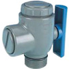 "Photo Wavin PVC Pressure Pipe systems Ball valve, PN10, d 1 1/2"" [Code number: 20120086]"