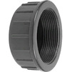 "Photo Wavin PVC Pressure Pipe systems Threaded pipe cap, PN10, d 1 1/2"" [Code number: 20131340]"