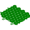 Photo Hauraton RECYFIX GREEN STANDARD Turf reinforcement, made of HD-PE, green, 387x334x38 mm [Code number: 40000]