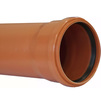 Photo SINIKON Universal Pipe for outdoor sewage, PP, SN4, length 0,5 m, D 110*3,4, price for 1 pc [Code number: 23005.R]
