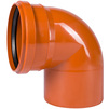 Photo SINIKON Outdoor sewerage Bend 87°, uPVC, D 400 (price on request) [Code number: 26130]