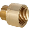 "Photo IBP Threaded brass adapters Reducing Bush M x F, chrome-plated, d 1 x 3/4"" [Code number: 8243 008006C00]"