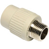 "Photo Wavin Ekoplastik PPRC Reducing sleeve with metal male thread, d 20x1/2"" [Code number: SZE02020XX]"