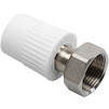 "Photo Wavin Ekoplastik Therm Metal reducer with cap nut, d 20x3/4"" [Code number: BZM02025XX]"