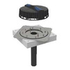Photo Geberit Pluvia roof outlet with fastening flange, for roof foils, d 56 (replacement for art. 359.003.00.1, 359.005.00.1) [Code number: 359.105.00.1]