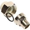 "Photo Wavin Ekoplastik PPRC Screw union with male thread, d 25х3/4"" [Code number: SSHE02525X]"