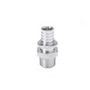 "Photo REHAU RAUTITAN Adapter with male thread, made of stainless steel, d 40 - R 1 1/4"" [Code number: 11389721001 / 138 972 001]"
