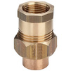 "Photo VIEGA Soldered fittings Adapter union, d 22 х 3/4"" [Code number: 117399]"