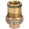 "Photo VIEGA Soldered fittings Adapter union, d 18 х 1/2"" [Code number: 106690]"
