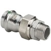 "Photo VIEGA Sanpress Inox Adapter union, d 35 x 1 1/4"" [Code number: 438340]"
