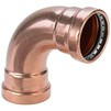 Photo VIEGA Profipress Elbow 90°, copper, d 64,0  [Code number: 577681]