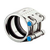Photo NORMA FLEX E protective pipe coupling, W5 с EPDM уплотнением, DN 254 (250.0-256.0) [Code number: NR-0582-9300-254]