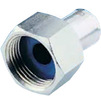 "Photo Wavin Future K1 (Alupex) Coupling with union nut, d 20 x 1 1/2"" [Code number: 25508540]"