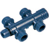 "Photo Wavin Future K1 (Alupex) manifold, 4 outlets, d 3/4"" [Code number: 25506624]"