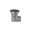 "Photo ATT Drain MINI, single-hull, cover ""S"" sealed, horizontal, with siphon trap, mesh strainer and grating, DN110 [Code number: Dm200/110H1S]"