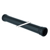 Photo Geberit Silent-Pro Double socket pipe, length 0,5 м, price for 1 pc, d75 [Code number: 393.310.14.1]