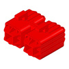 Photo HAURATON DRAINFIX BLOC Connection adaptor for DRAINFIX BLOC Size 1, red, 73x46x64 mm [Code number: 96115]