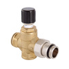 "Photo VALTEC Bypass differential valve straight/angled, for high flow capacity, G 3/4"" [Code number: VT.623.G.05]"