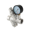 "Photo VALTEC Pressure reducer with Y-filter and pressure gauge, from 2 to 5 bar, d 1/2"" [Code number: VT.082.N.04]"