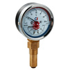"Photo VALTEC Thermomanometer TMTB-31P with bottom connection, 10 bar, 0-120°, case diameter 80 mm, G 1/2"" [Code number: ТМТБ-31P.0410120]"