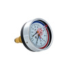"Photo VALTEC Thermomanometer ТМТБ-31T with back connection, 10 bar, 0-120°, case diameter 80 mm, G 1/2"" [Code number: ТМТБ-31T.0410120]"