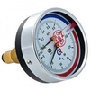 "Photo VALTEC Thermomanometer ТМТБ-41Т with back connection, 10 bar, 0-120°, case diameter 100 mm, G 1/2"" [Code number: ТМТБ-41Т.0410120]"