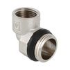 "Photo VALTEC Manifold elbow connector, male-female, d 3/4"", d1 1/2"" [Code number: VTc.531.N.0504]"