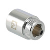 "Photo VALTEC Extension, length 100mm, chrome-plated, d 1/2"" [Code number: VTr.198.C.04100]"