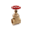 "Photo VALTEC RG Brass full bore gate valve, PN 16, d 2"" [Code number: VT.012.RG.09]"