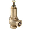"Photo VALTEC Adjustable safety valve, 1-16 Bar, d 1/2"" [Code number: VT.1831.RG.04]"