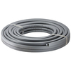 Photo Geberit Mepla pipe, with circular pre-insulation, in coils, gray, insulation 13 mm, d 16mm, length 50m, price for 1 m [Code number: 601.138.00.1]